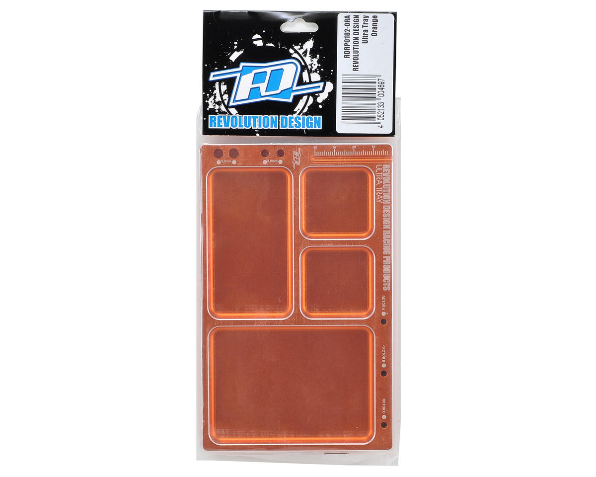 Revolution Design Ultra Parts Tray (Orange)