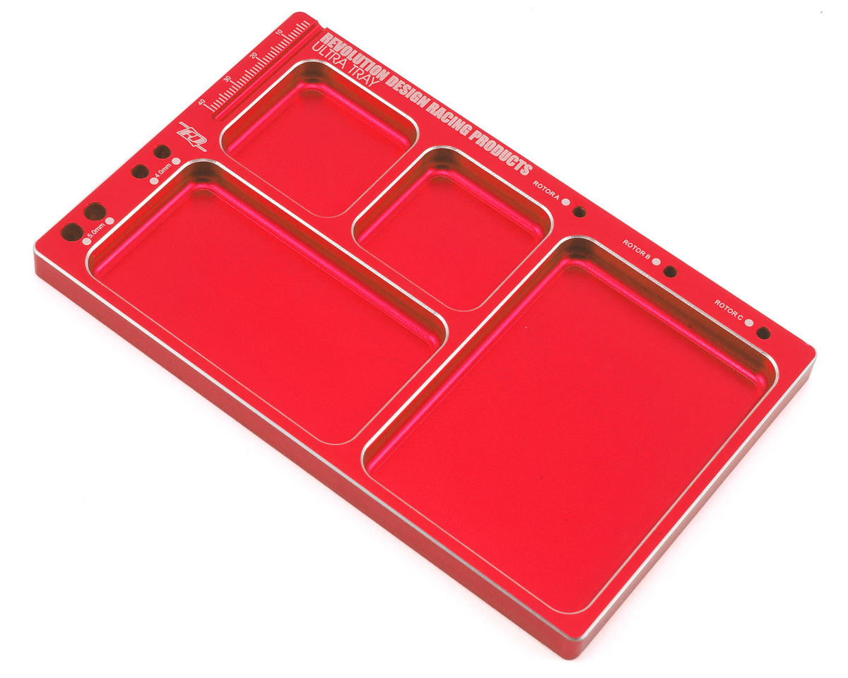 Ultra Parts Tray (Red) by Revolution Design