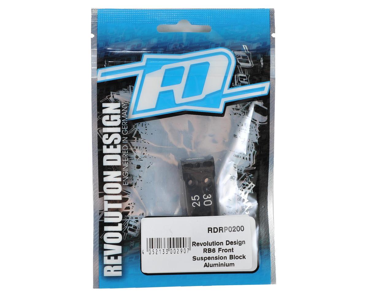 Revolution Design Aluminum RB6 Front Suspension Block