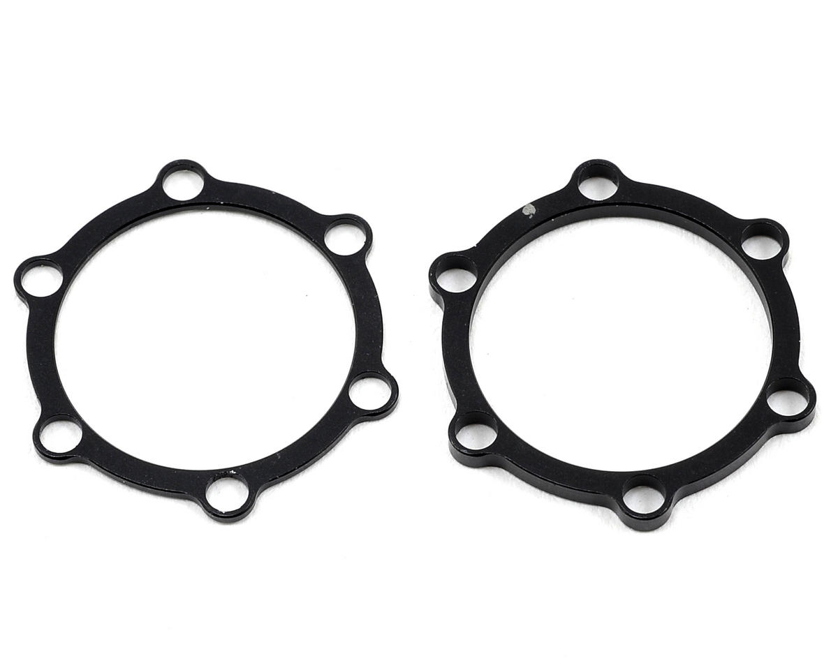 Revolution Design Motor Distance Plate Set (1.0 & 2.0mm) (Team Associated TC6)