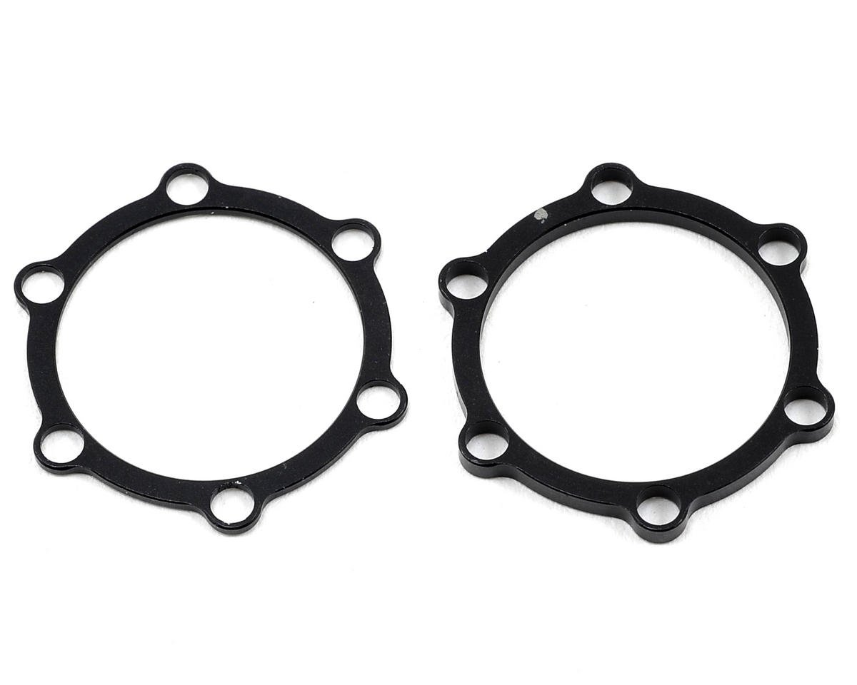 Revolution Design Motor Distance Plate Set (1.0 & 2.0mm) (Team Associated TC6.2)