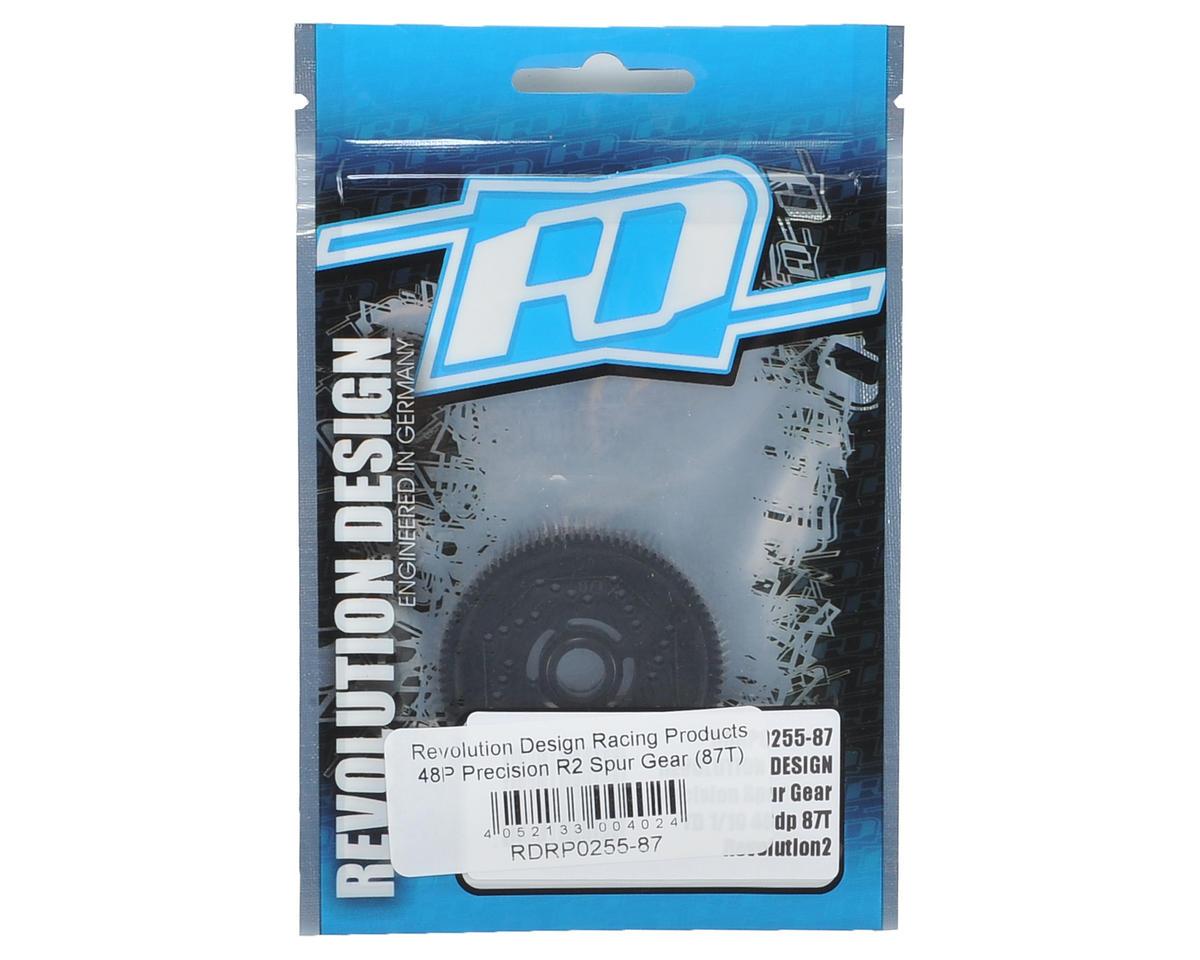 Precision TD R2 48P Spur Gear (87T) by Revolution Design