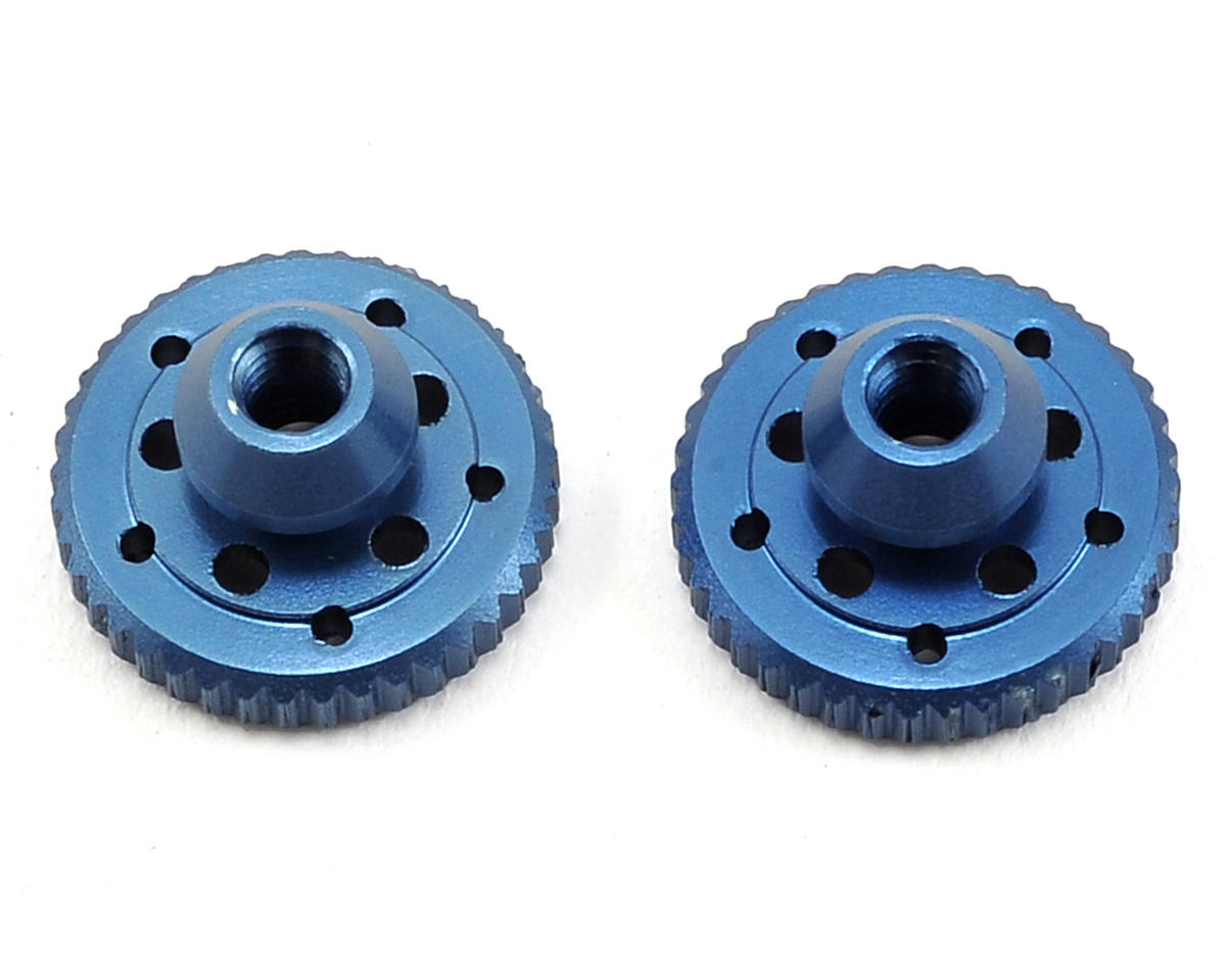 Revolution Design B5M Aluminum Battery Plate Thumb Nut (Blue)