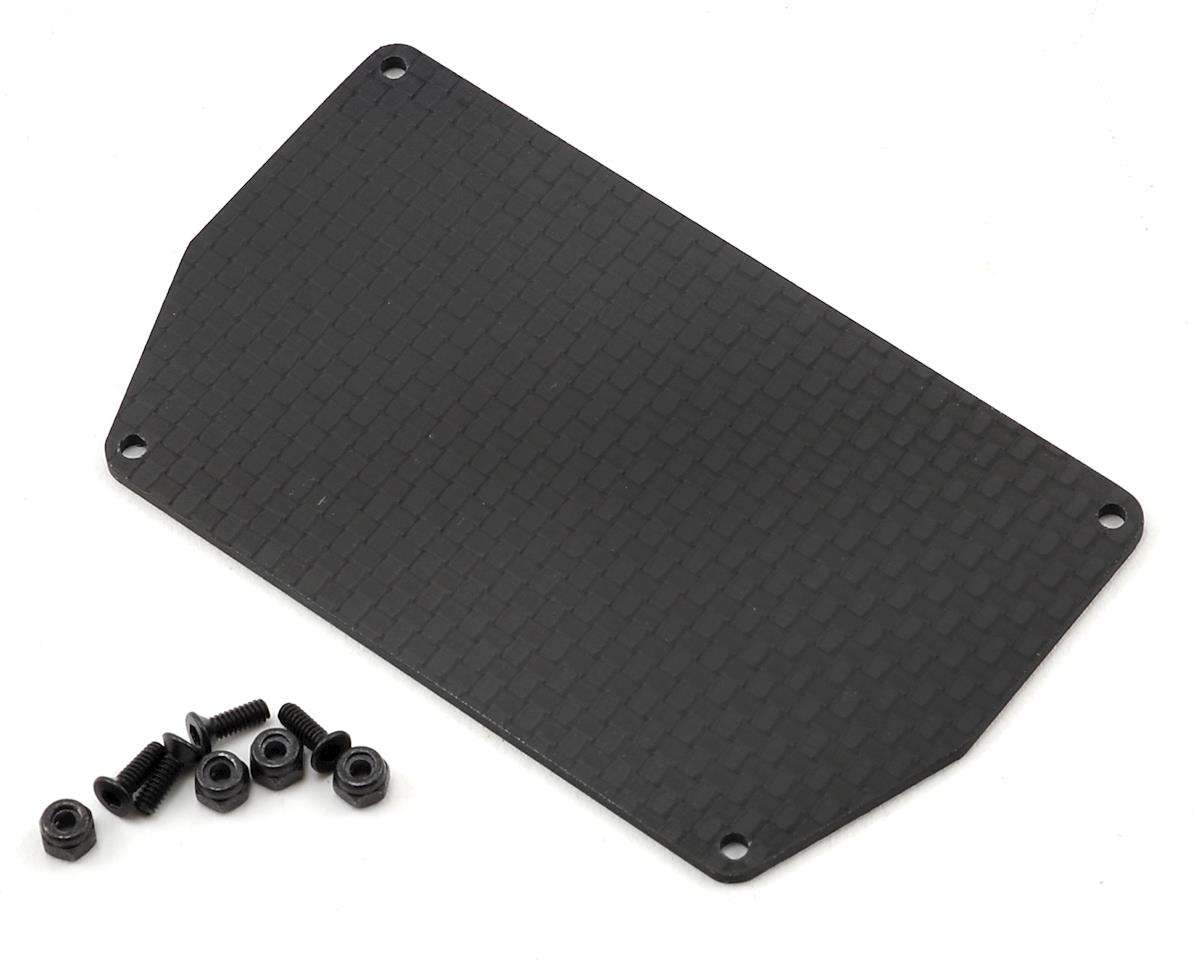 Revolution Design B6 Carbon Fiber Electronic Mounting Plate w/Hardware