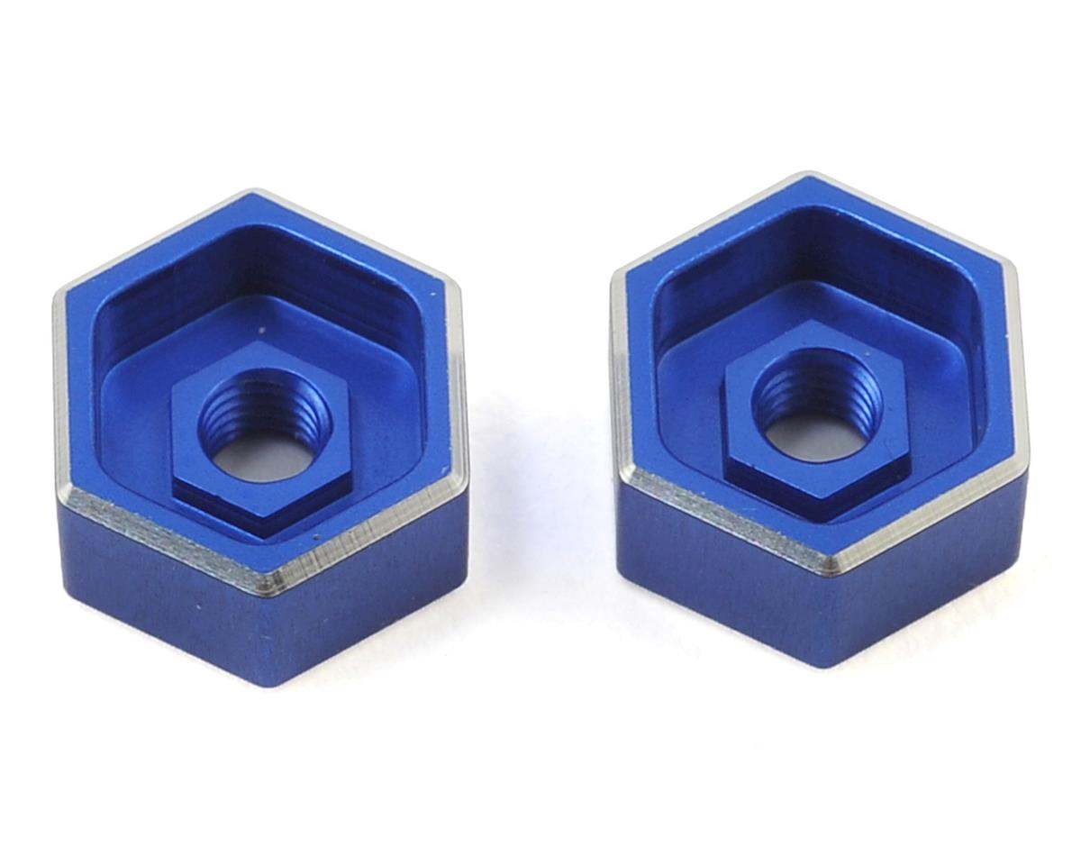 Revolution Design B6 Battery Thumb Nuts (Blue) (2)