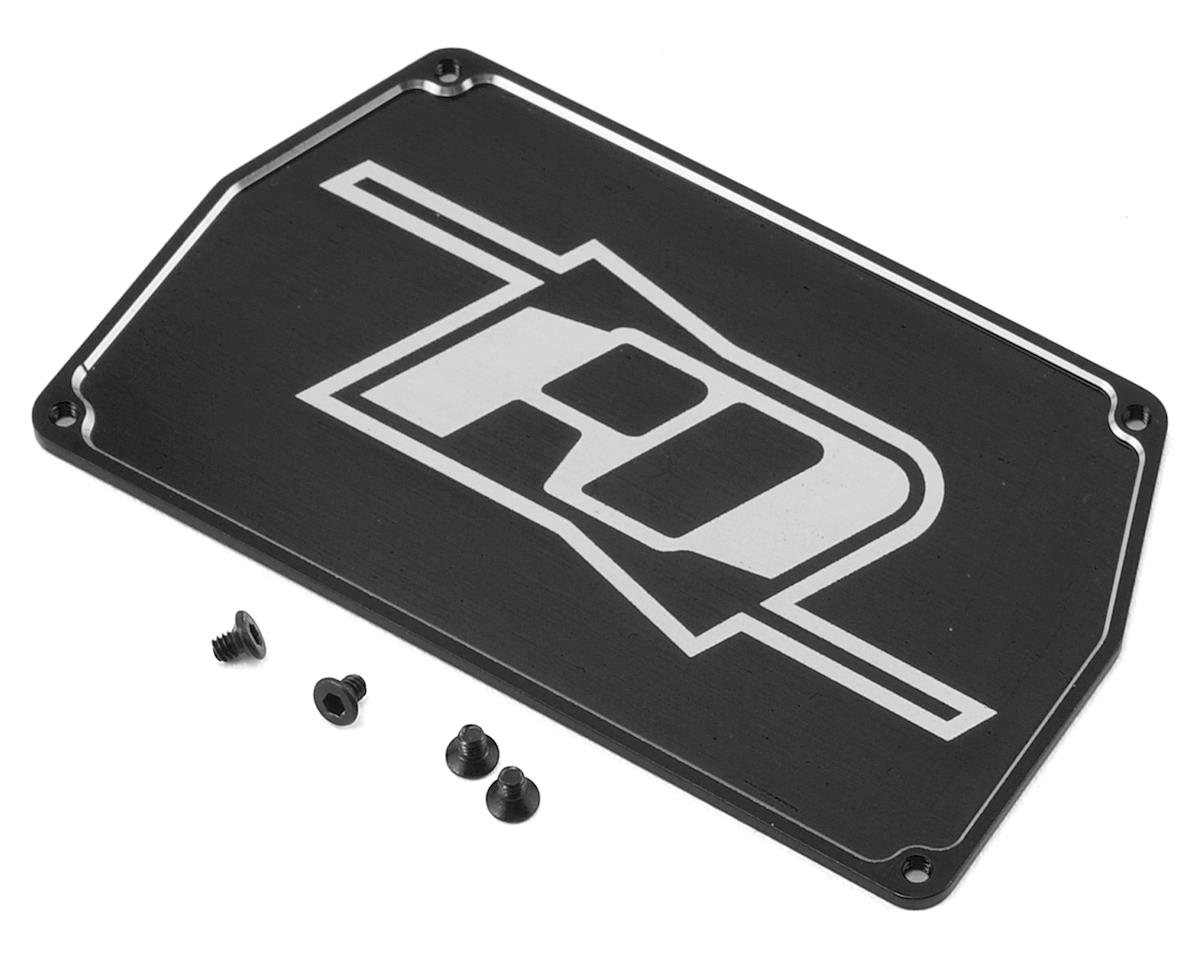 B6 Aluminum Electronic Mounting Plate (Black) by Revolution Design