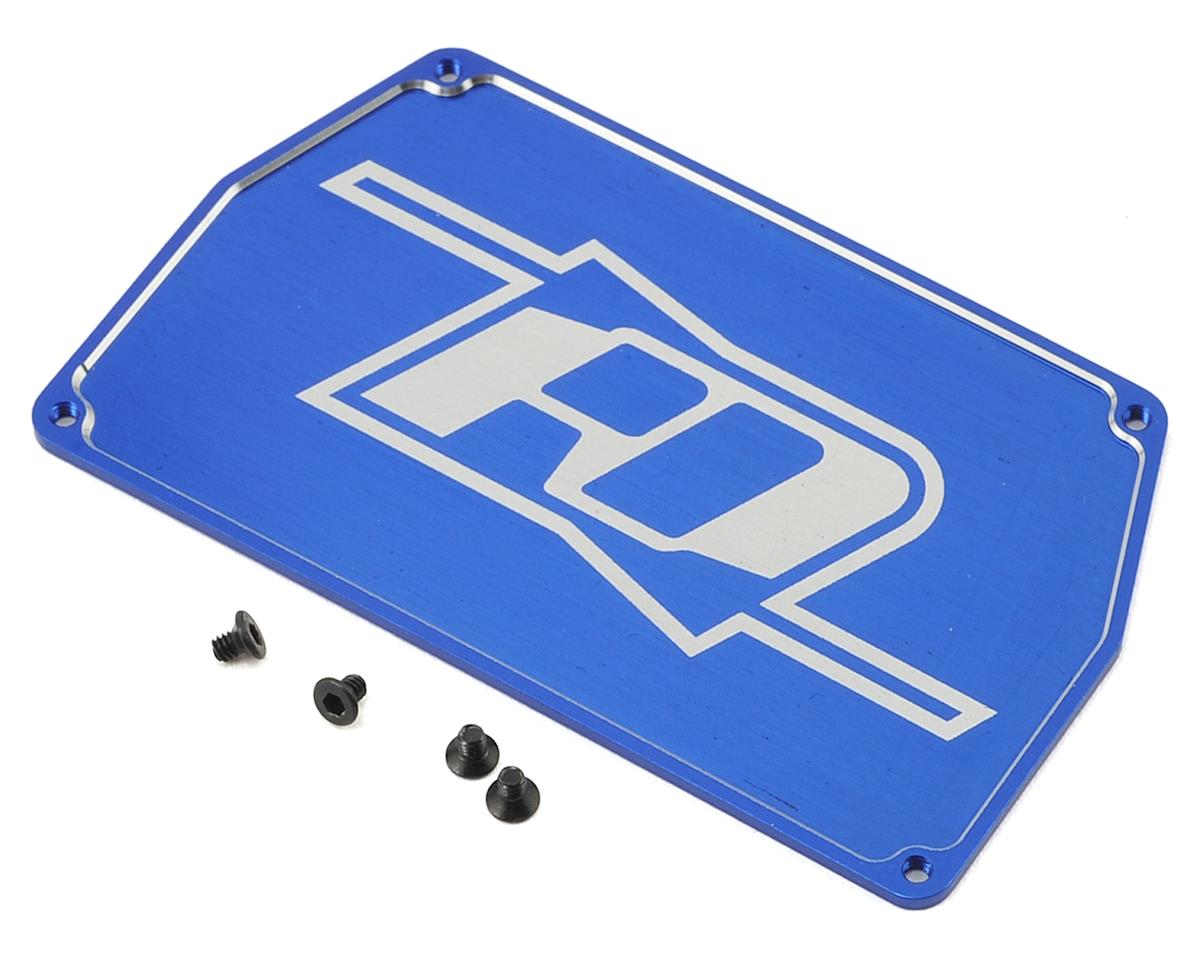 Revolution Design B6 Aluminum Electronic Mounting Plate (Blue)