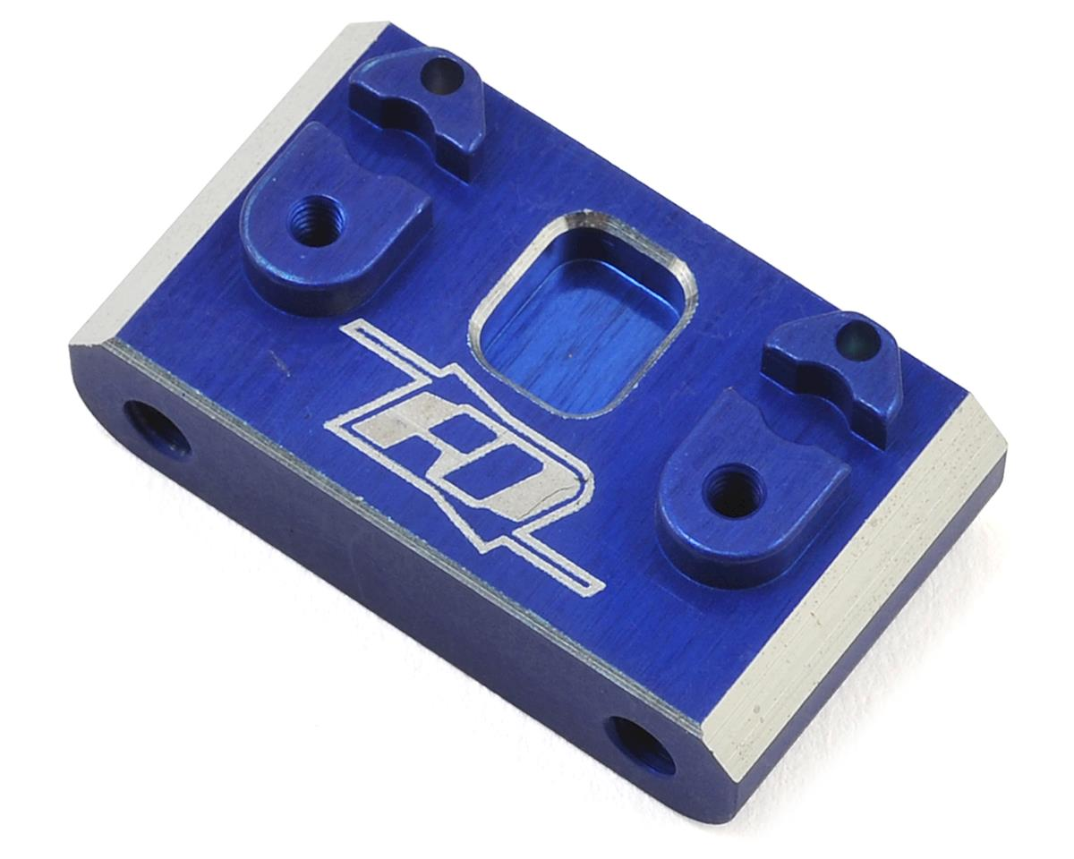 Revolution Design B6 Aluminum Rear Gearbox Brace (Blue)