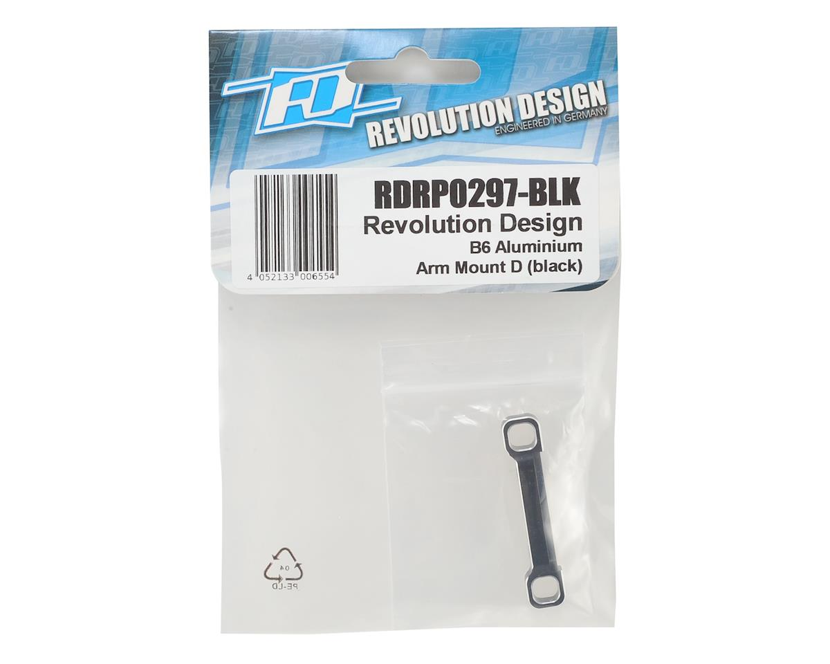 Revolution Design B6 Aluminum Arm Mount D (Black)