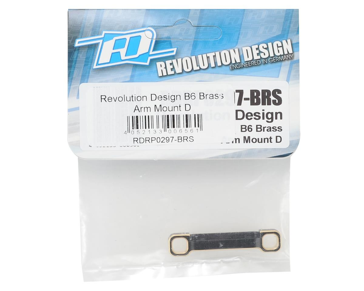 Revolution Design B6 Brass Arm Mount D