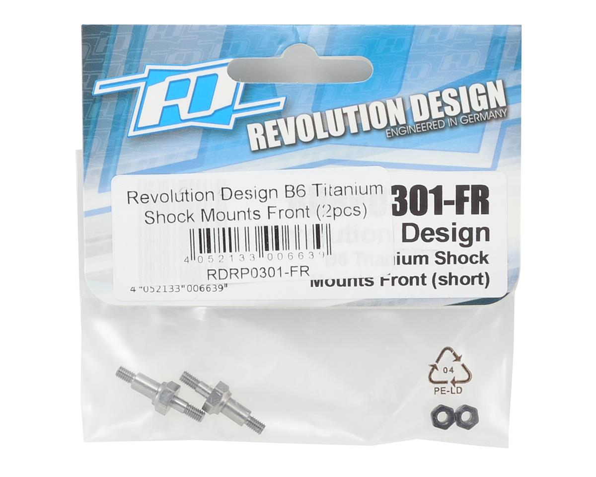 Revolution Design B6 Titanium Shock Mounts Front (2)