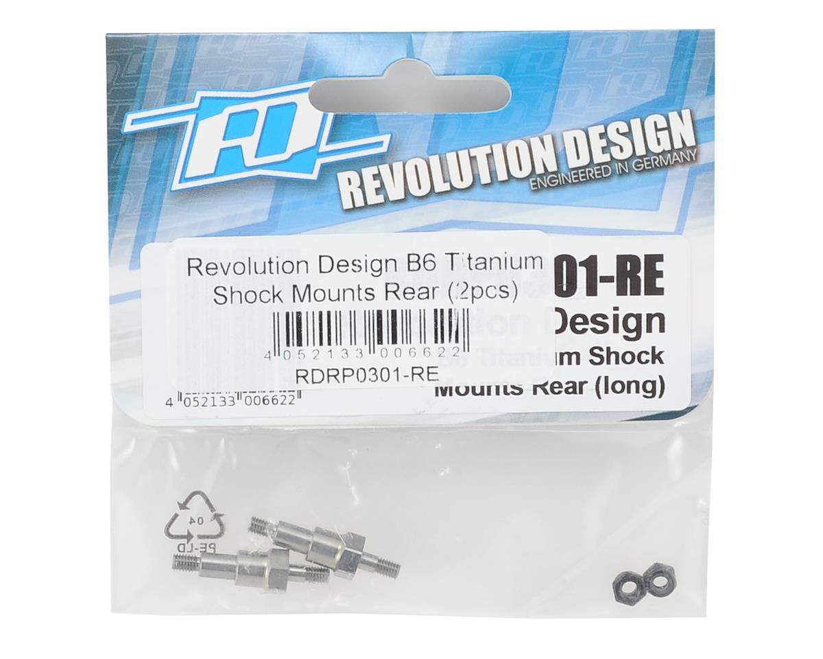 Revolution Design B6 Titanium Shock Mounts Rear (2)