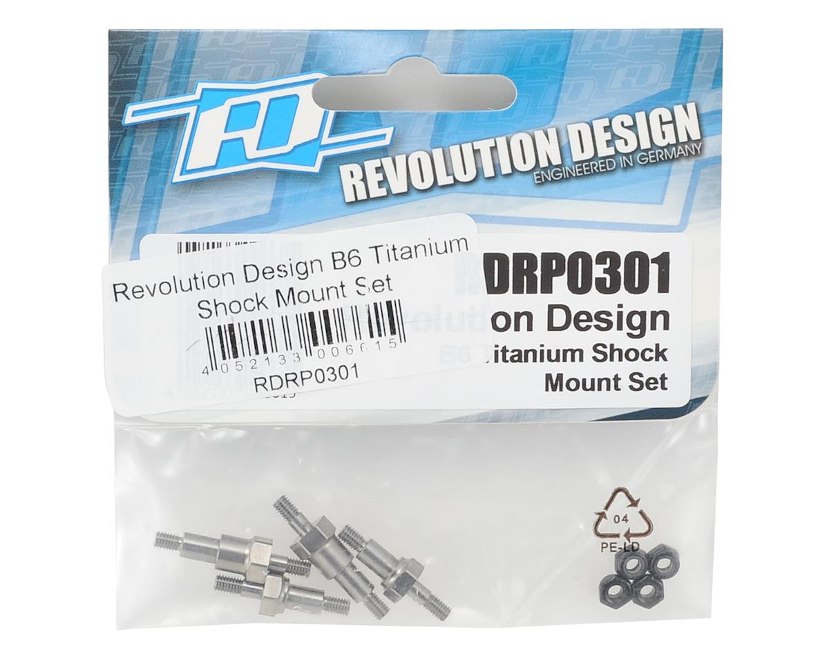 Revolution Design B6 Titanium Shock Mount Set
