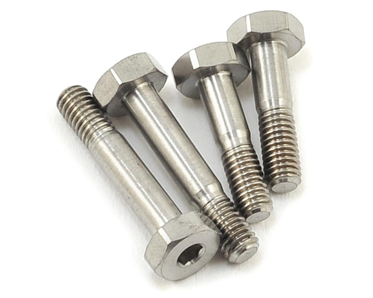 XB4 Titanium Lower Shock Screw Set by Revolution Design