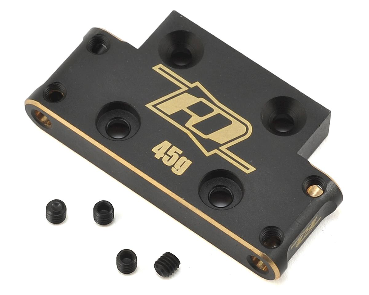 Revolution Design XB2 Brass Front Bulkhead (26°) (XRAY Dirt)