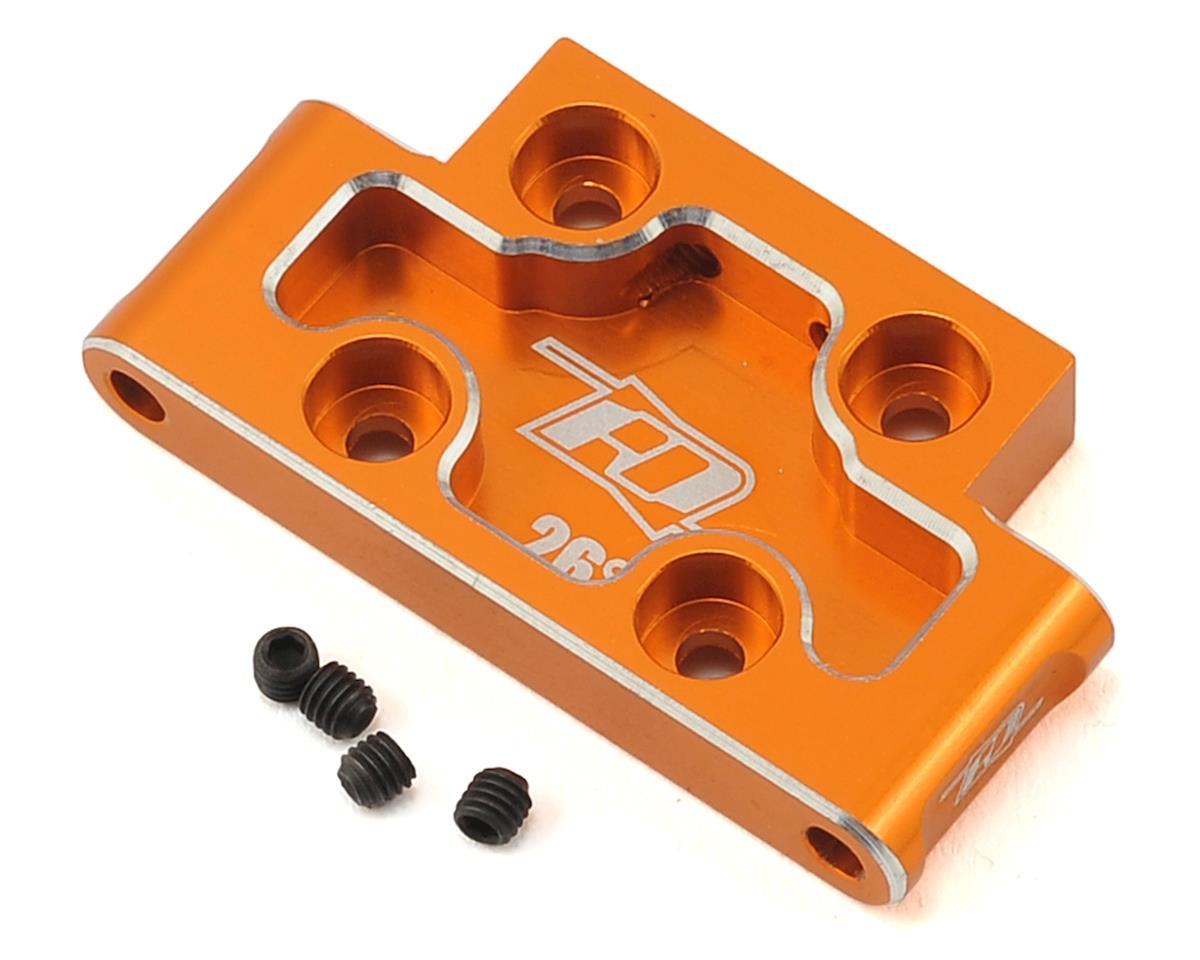 Revolution Design XB2 Aluminum Front Bulkhead (Orange) (26°)