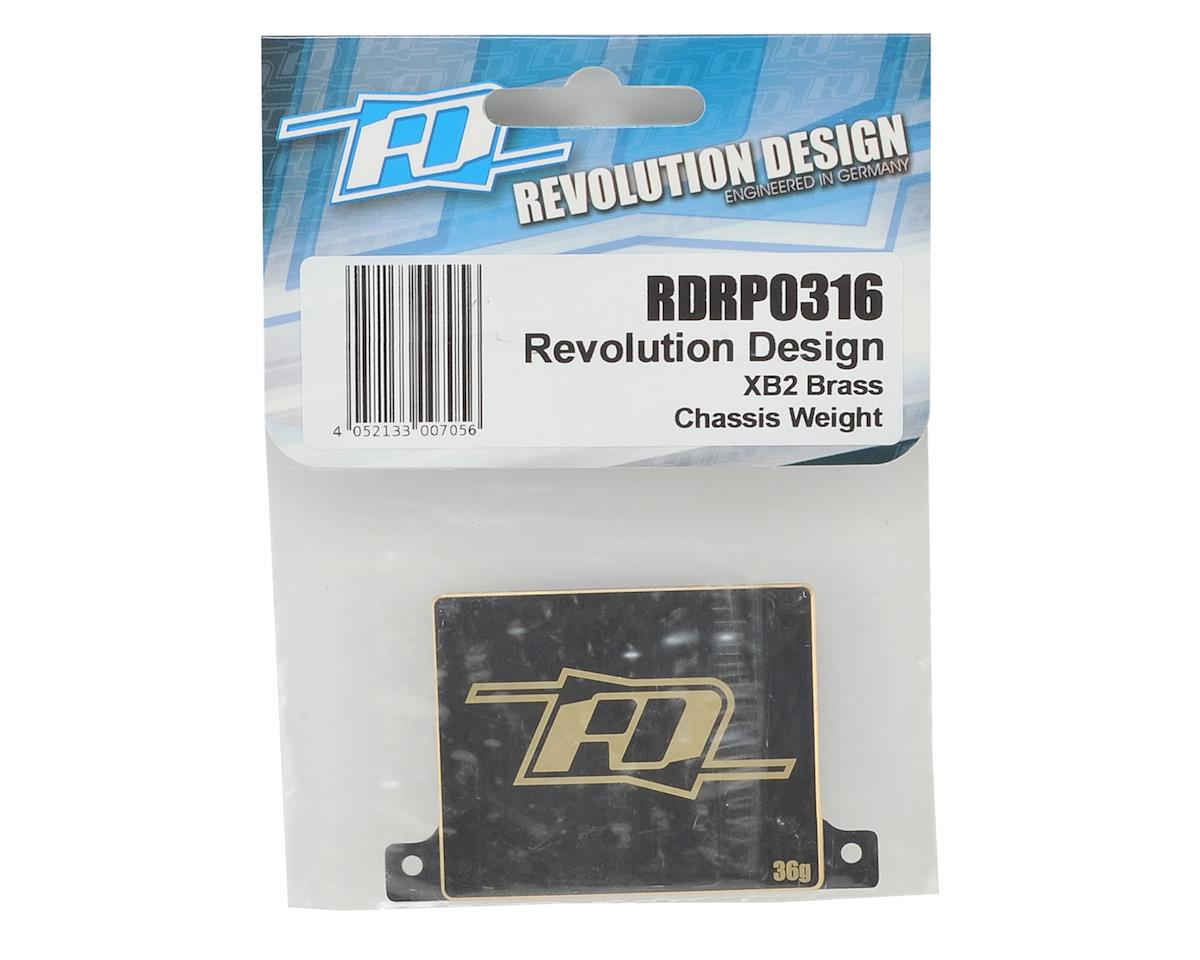 Revolution Design XB2 Brass Chassis Weight