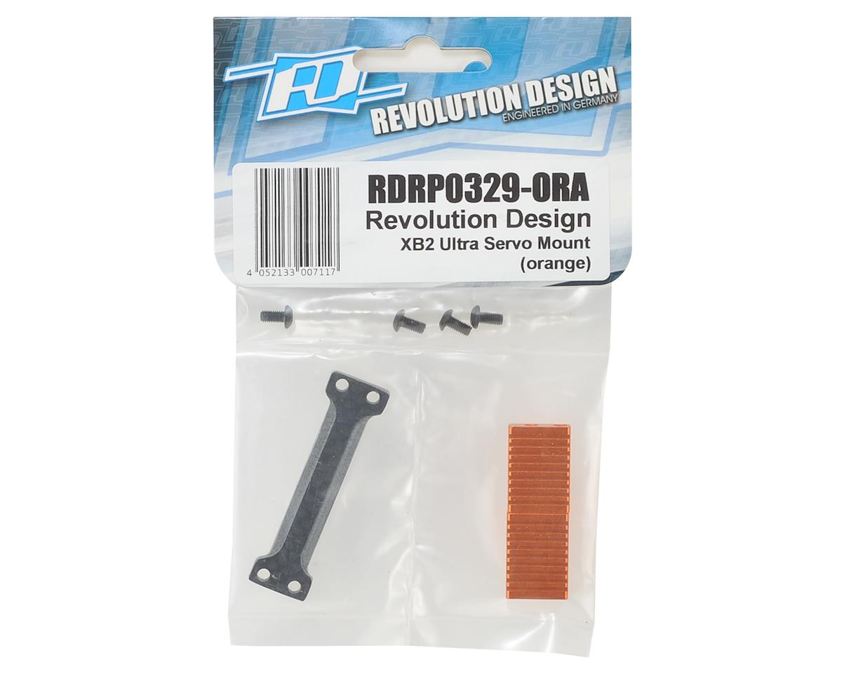 Revolution Design XB2 Ultra Servo Mount (Orange)