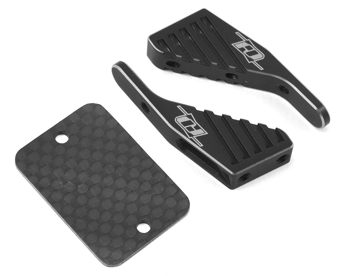 Revolution Design XB4/XB2 Aluminum Wing Mount (Black) (XRAY XB2 2017 Carpet)