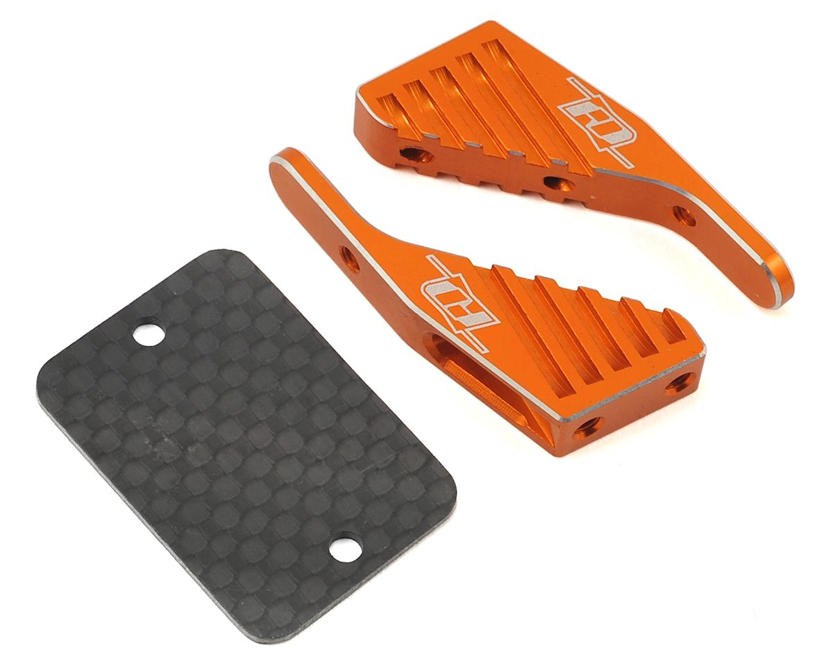 Revolution Design XB4/XB2 Aluminum Wing Mount (Orange) (XRAY XB2 2017 Carpet)