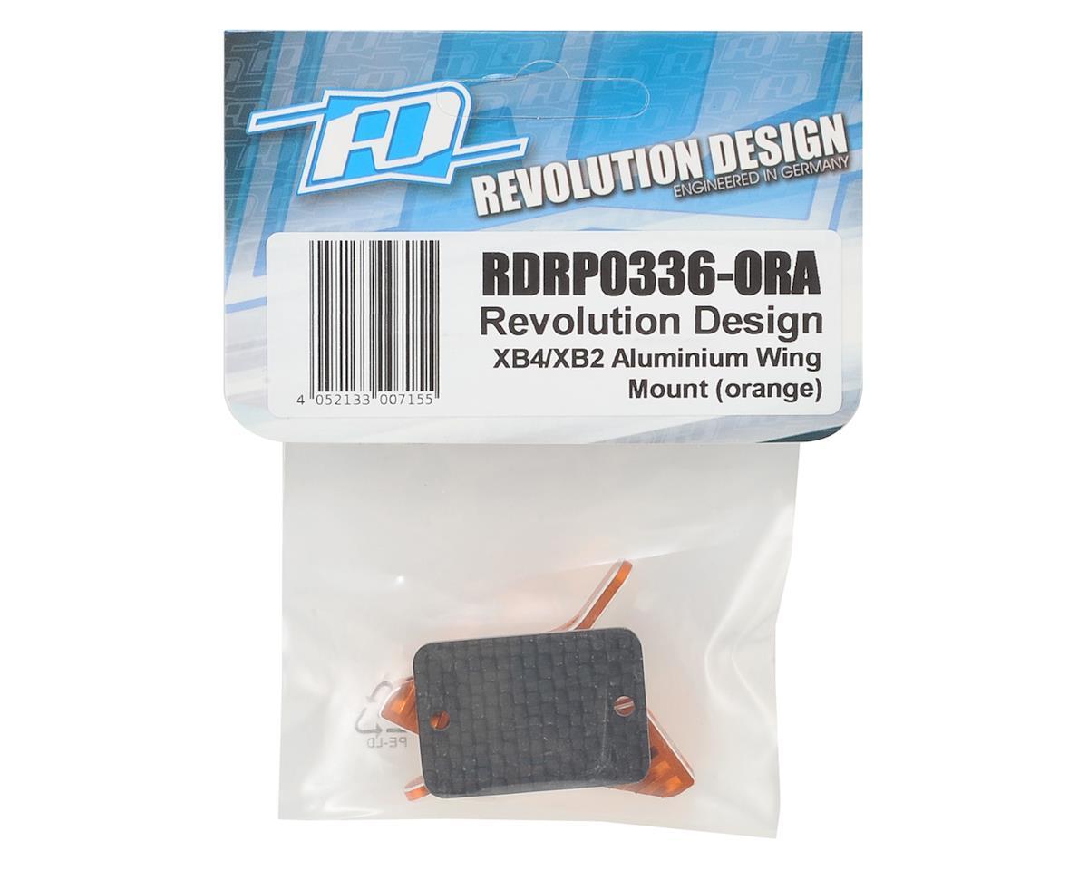 XB4/XB2 Aluminum Wing Mount (Orange) by Revolution Design