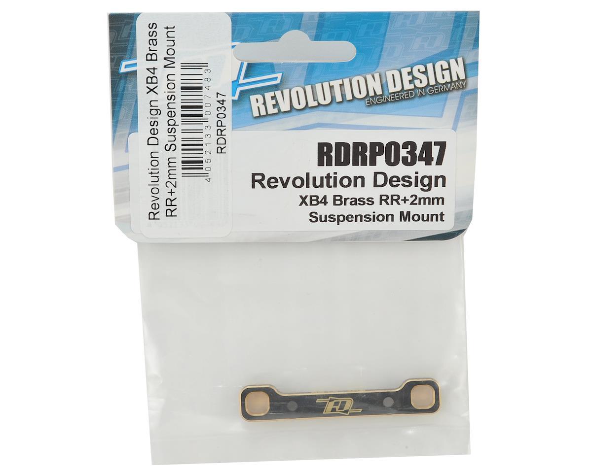 Revolution Design XB4 Brass RR +2mm Suspension Mount
