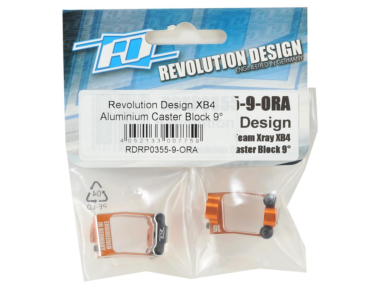 Revolution Design XB4 Aluminium Caster Block (9°)
