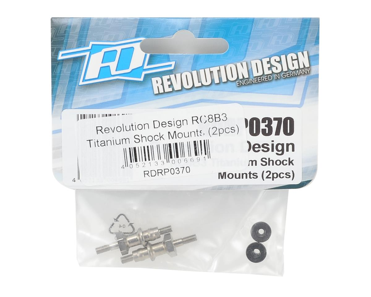 Revolution Design RC8B3 Titanium Shock Mounts (2)