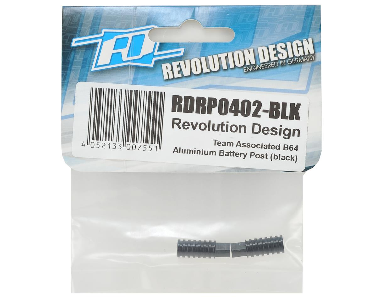 Revolution Design B64 Aluminum Battery Post (Black)