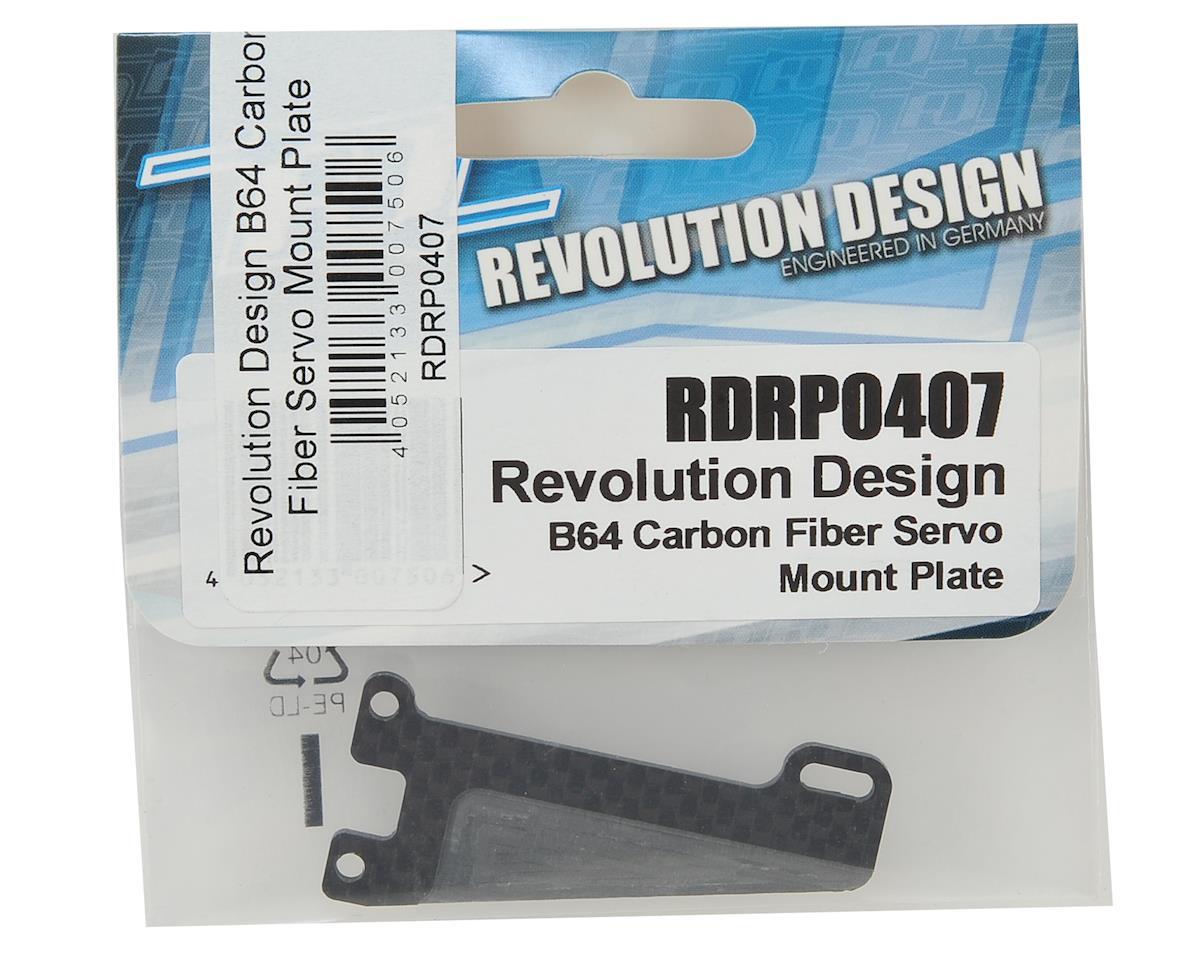 Revolution Design B64 Carbon Fiber Servo Mount Plate