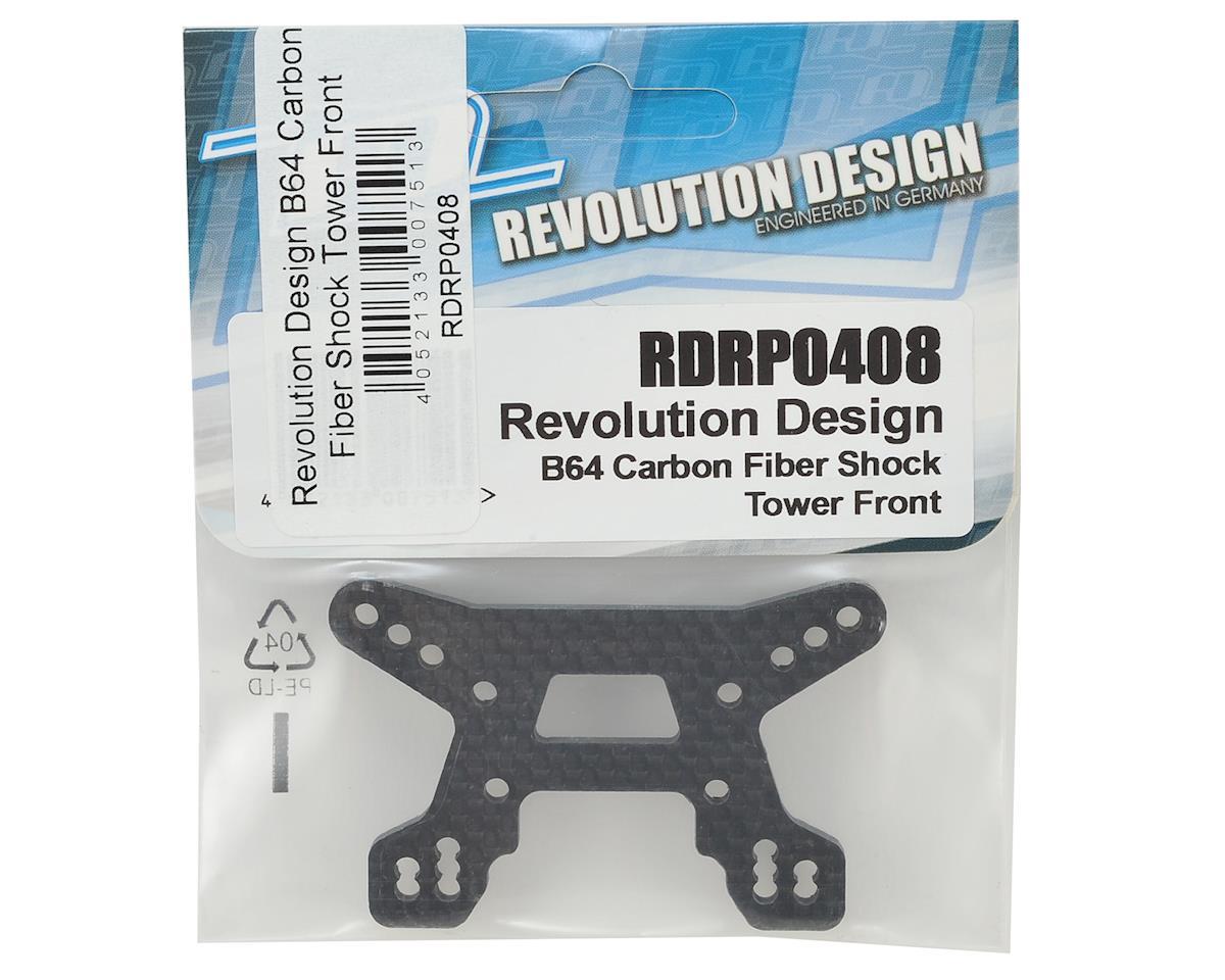 Revolution Design B64 Carbon Fiber Front Shock Tower