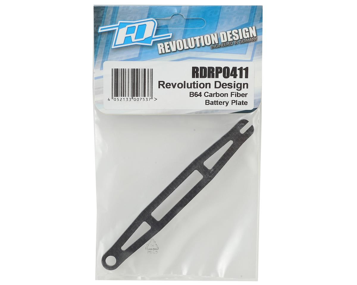 Revolution Design B64 Carbon Fiber Battery Plate