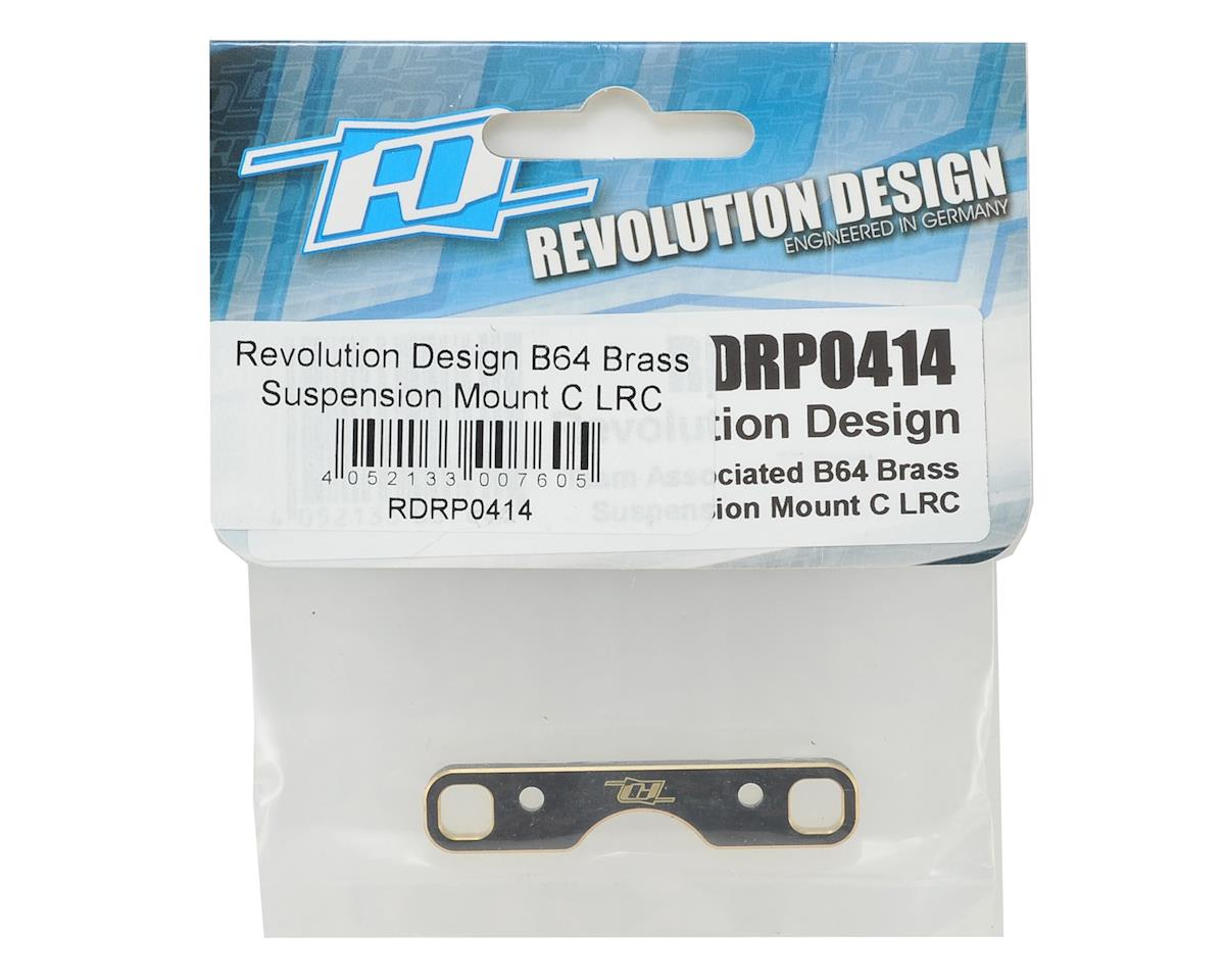 Revolution Design B64 Brass LRC Suspension Mount C