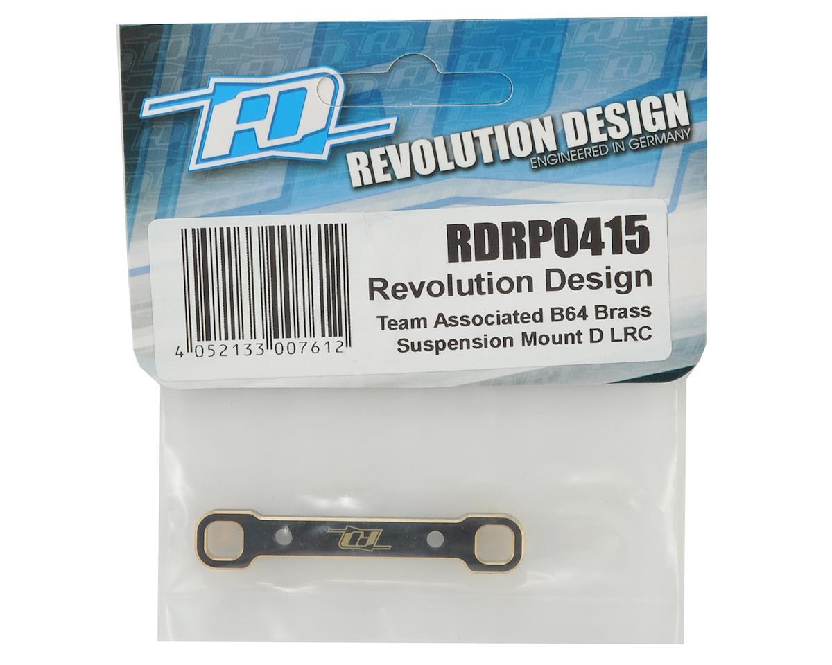 Revolution Design B64 Brass LRC Suspension Mount D
