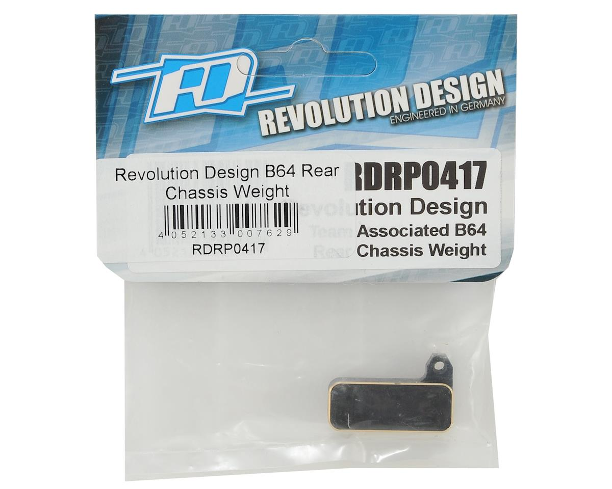 Revolution Design B64 Rear Chassis Weight