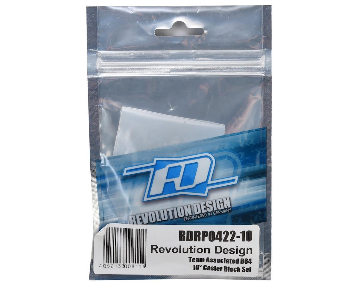 Revolution Design 10° B64 Caster Block Set (Black)
