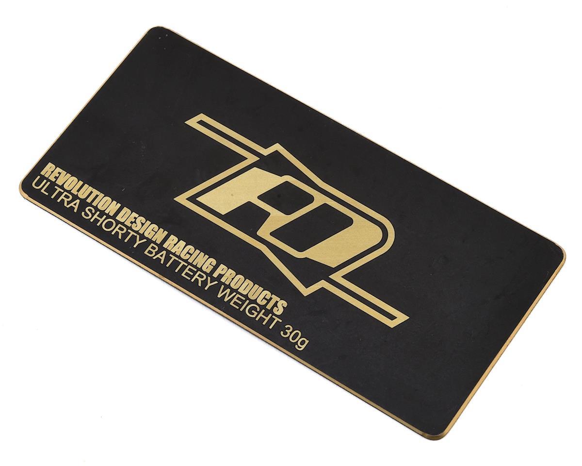 Revolution Design Brass Ultra Shorty Battery Weight (Black) (30g)
