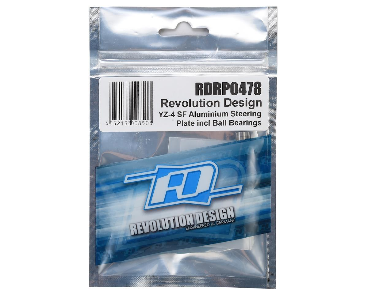 Revolution Design YZ-4 SF Aluminum Steering Plate w/Ball Bearings