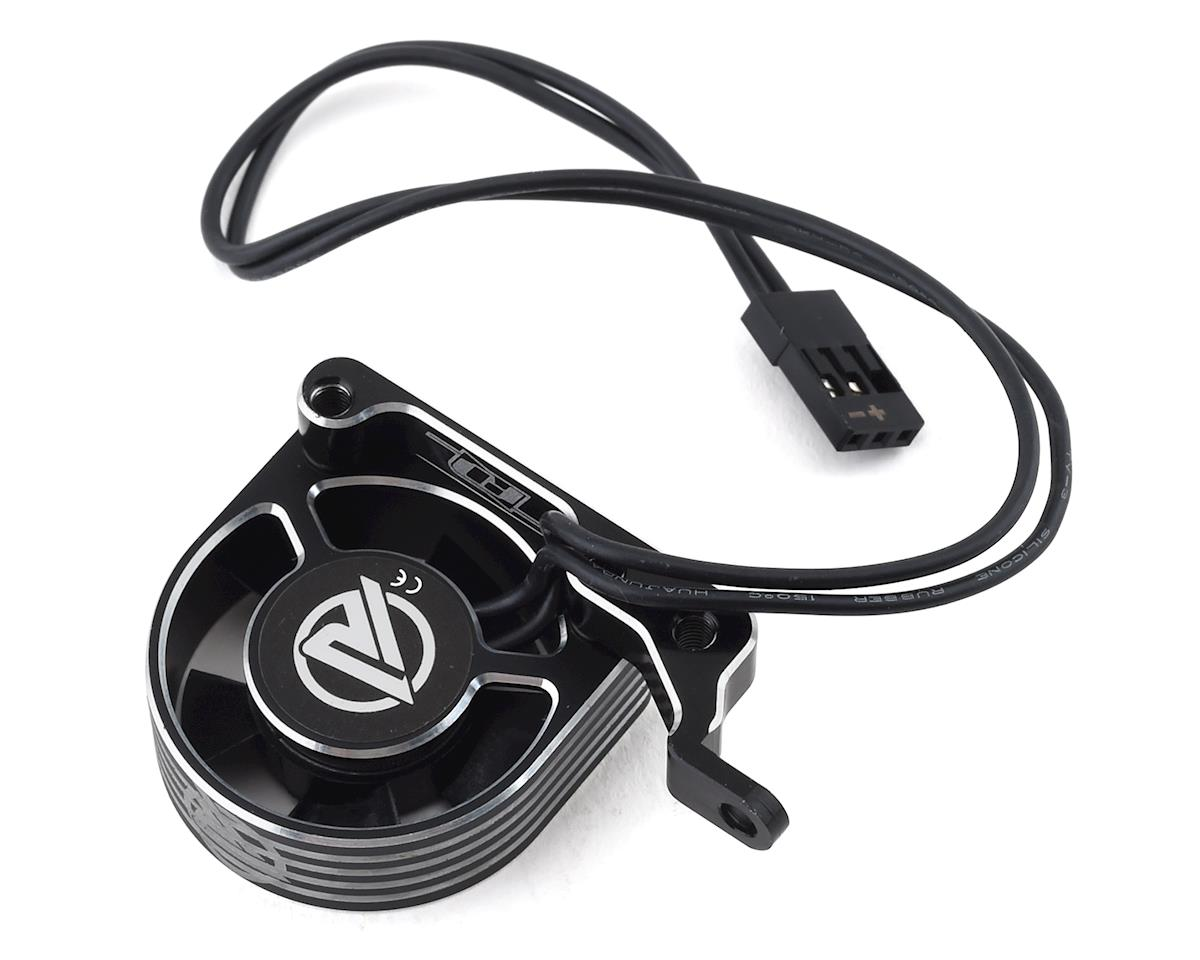 Revolution Design B74 Aluminum Fan Mount w/Ruddog 30mm HV Fan (Black)