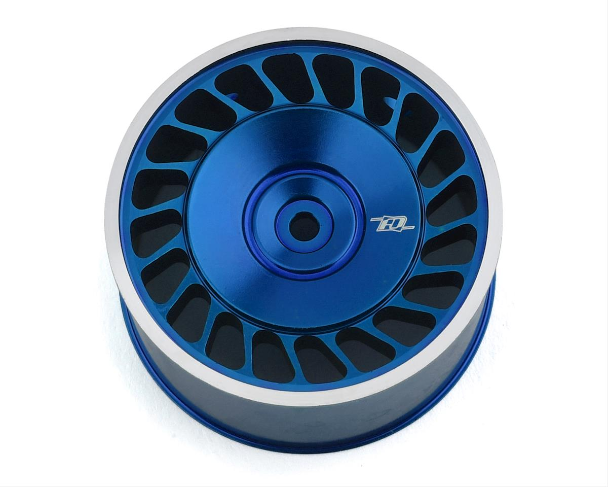 Revolution Design Sanwa M17/MT-44 Aluminum Steering Wheel (Blue)