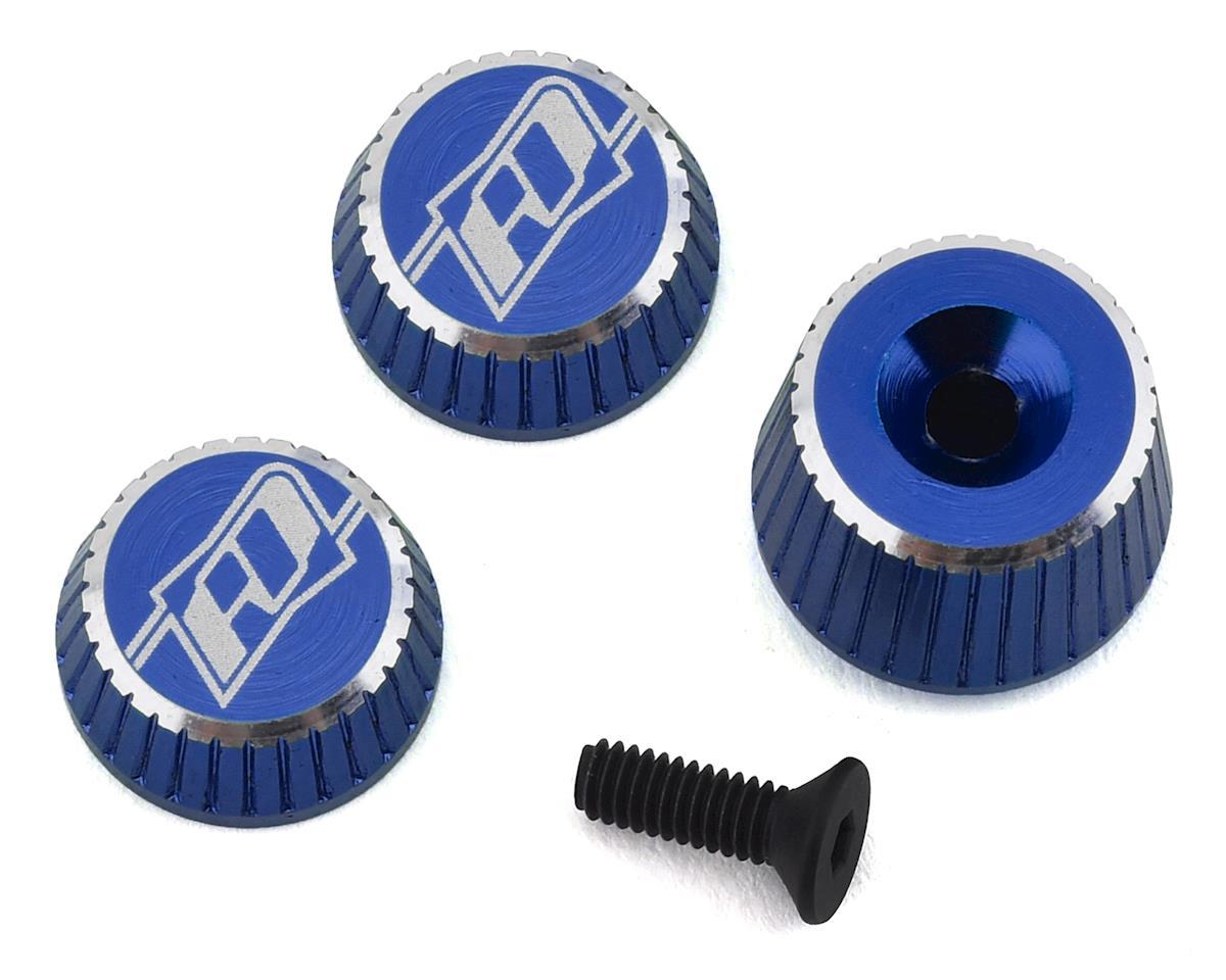 Revolution Design M17 Dial & Nut Set (Blue) | alsopurchased