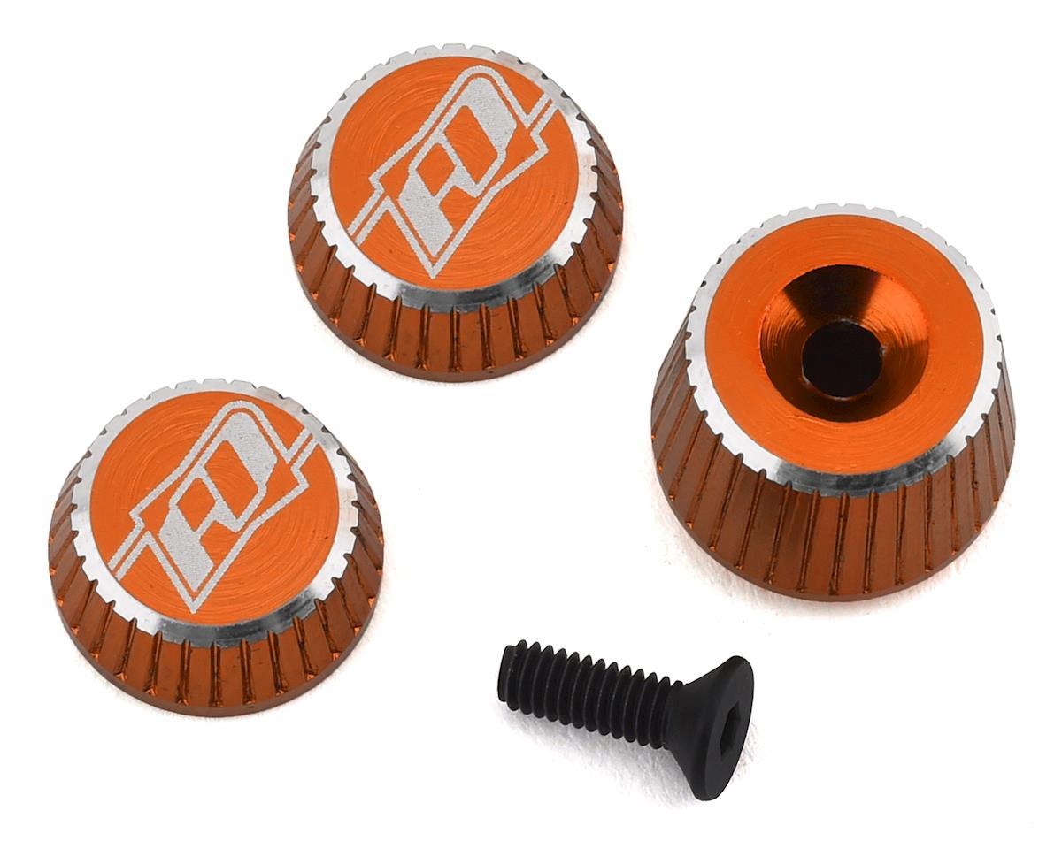 Revolution Design M17 Dial & Nut Set (Orange)