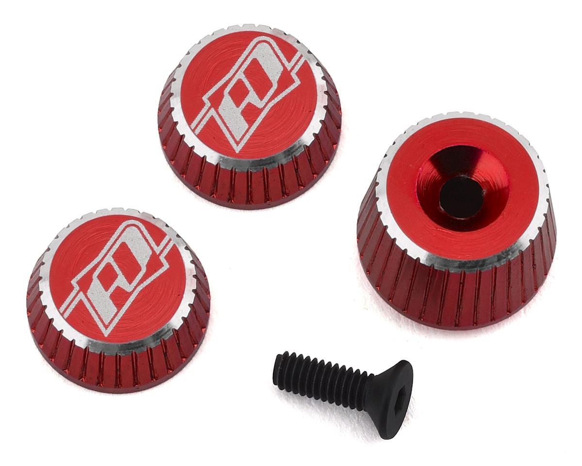 Revolution Design M17 Dial & Nut Set (Red) | alsopurchased
