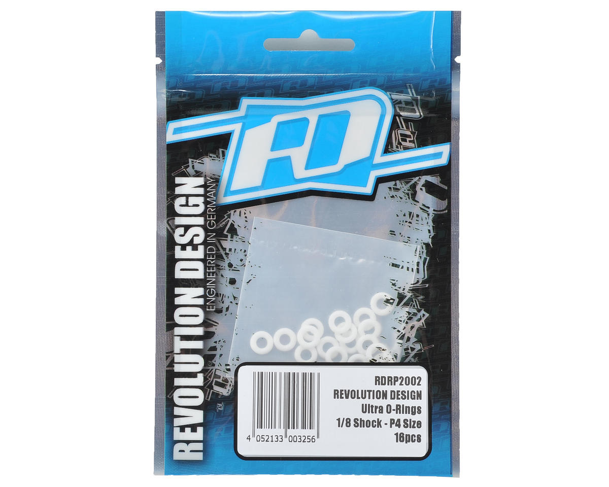 Revolution Design Ultra P4-Size 1/8 Shock O-Ring (16)