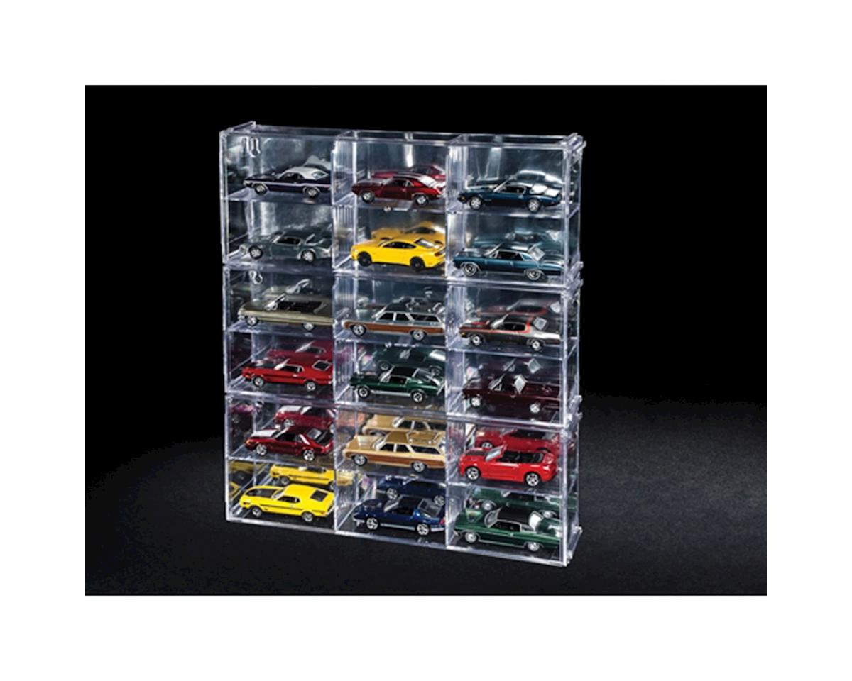 Six Car Interlocking Display Case w/Exclusive Car by Round 2 AW