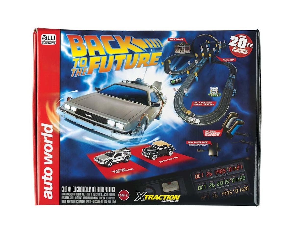 14' Back to the Future Race Set DeLorean-1946 Ford