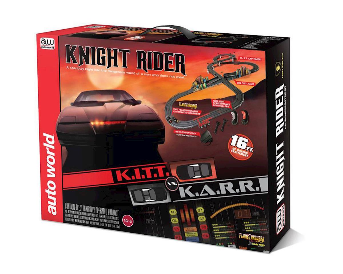 Round 2 AW 16' Knight Rider Slot Car Race Set