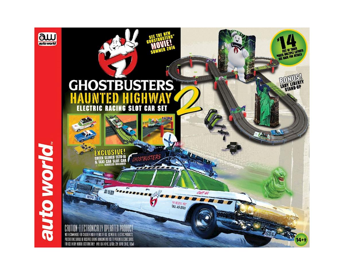 Ghostbusters 14' Haunted Highway 2 SlotCar RaceSet