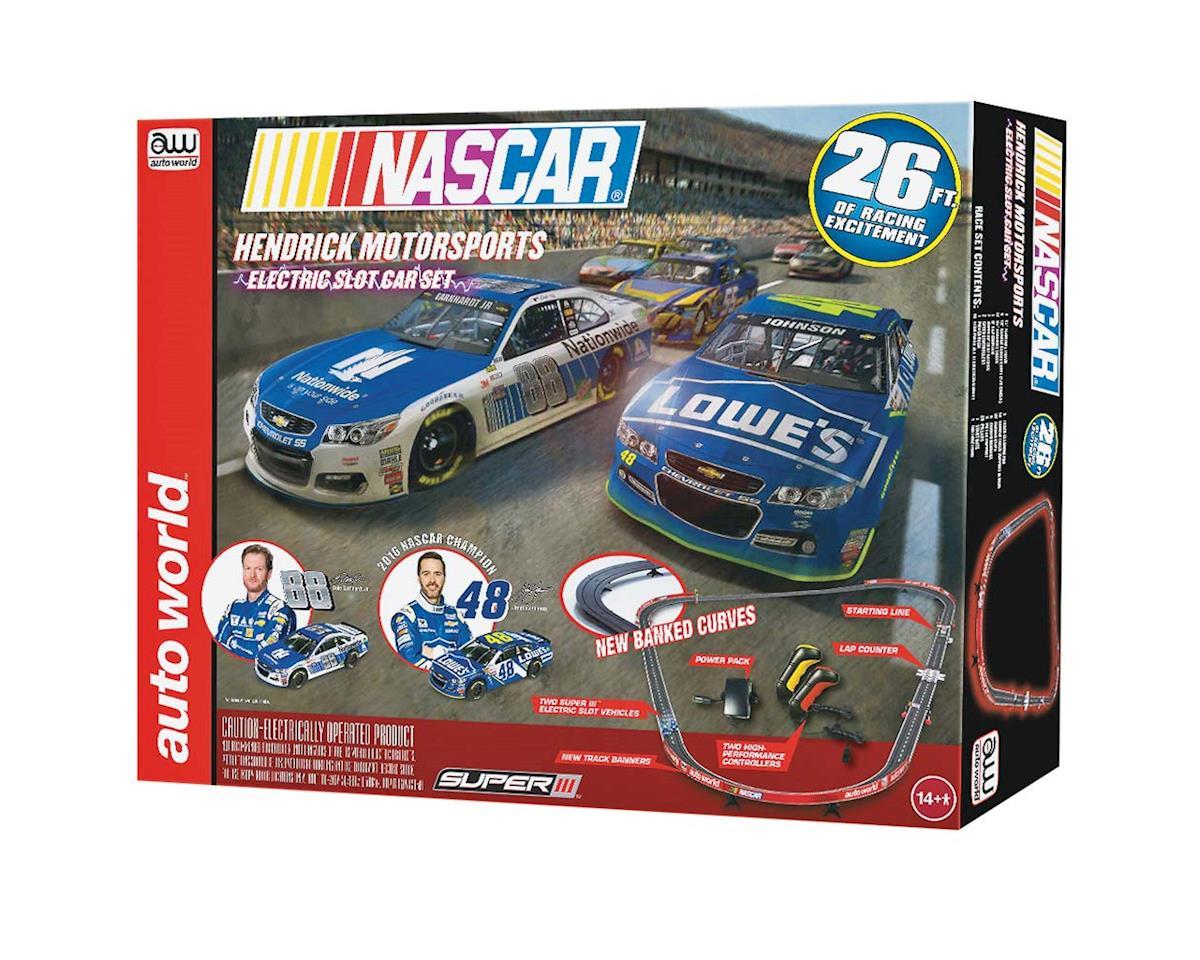 Round 2 AW SRS321/03 NASCAR Hendrick Motorsports Slot Race Set 26'