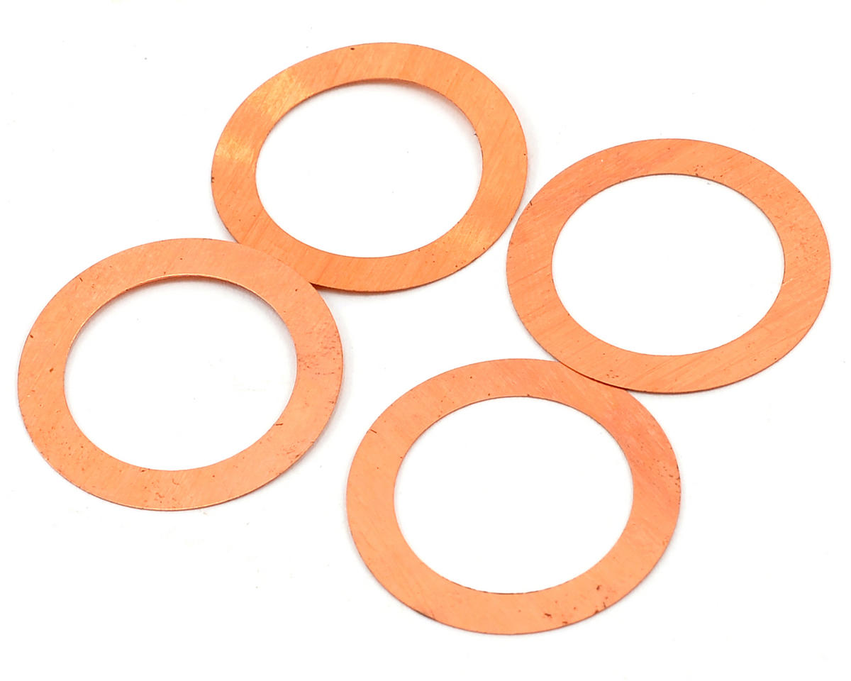 REDS Racing 0.1mm Head Shim (4) (Reds Engines R5T)